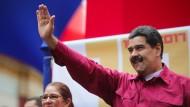 Demokratie und Gewaltenteilung waren einmal: Venezuelas Staatschef Nicolás Maduro führt sein Land in die Diktatur.