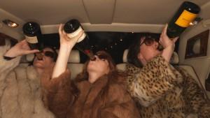 Das Leben ist eine Champagnerparty