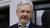 Er hofft auf Trump: Wikileaks-Gründer Julian Assange.