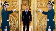 Der Präsident, der aus der Kälte kam: Wladimir Putin im Kreml.