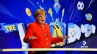 Angela Merkel auf der Gamescom in Köln.