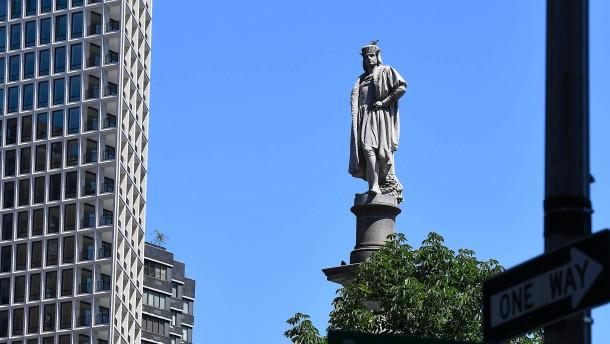 Kolumbus hin, Kolumbus her