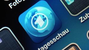 Tagesschau-App war rechtswidrig