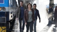 Sind in Eile: Scott Foley, Lauren Cohan und Tyler James Williams (von links) spielen das Agententrio.