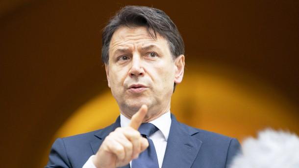 Was sich Italiens Regierung in der Krise alles so leistet