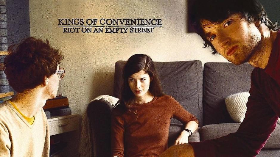 Stiller Rückzug: Das Album Riot on an Empty Street, rechts im Bild Eirik Glambek Bøe