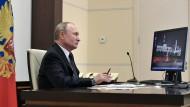 Hat die Medien stets im Kontroll-Blick: der russische Präsident Wladimir Putin.