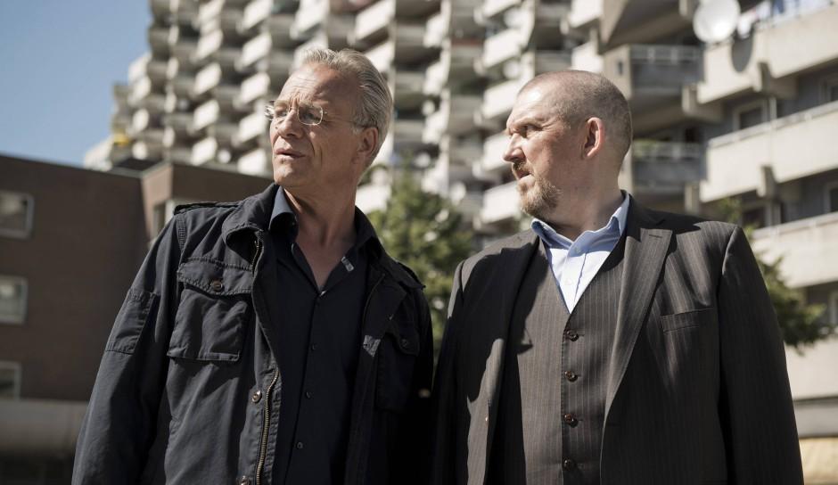 Wo geht`s lang? Die Kommissare Max Ballauf (Klaus J. Behrendt, links) und Freddy Schenk (Dietmar Bär) kommen wie stets zu spät.