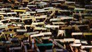 Für Demokratie und Freiheit, gegen das von der Regierung geplante Abschiebegesetz: Demonstranten am 5. Juli in Hongkong.