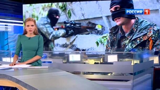 Ein Tag im russischen Staatsfernsehen