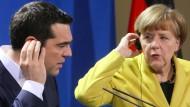 Ist Tsipras vor Merkel eingepennt?