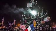 """Damals sagten alle """"Je suis Charlie"""": Eine Demonstration nach den islamistischen Anschlägen im Januar 2015 in Paris."""