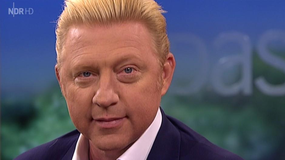 """Will kein Dukatenesel sein: Boris Becker in der NDR-Talkshow """"DAS!"""""""