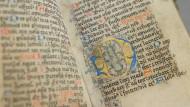 Schrift auf verschlungenen Wegen: Der Kodex aus der Abtei St. Ludgerus ging in der Säkularisation verloren.