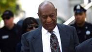 Ankunft: Bill Cosby vor dem Montgomery County Courthouse in Norristown, Pennsylvania.