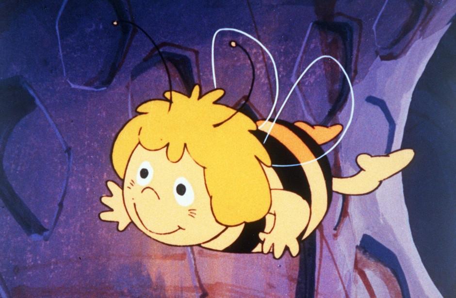 Ein runder Charakter - die kleine, freche, schlaue Biene in der Zeichentrickserie von 1976.