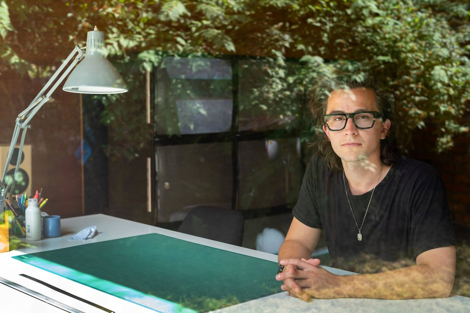 Zukunftspläne: Irgendwann will der Videokünstler Jonas Englert einen Spielfilm drehen.