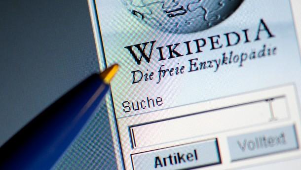 Unter der Flagge Wikipedias