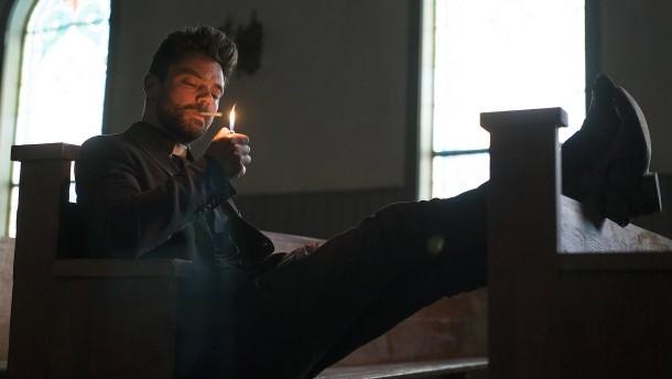 Der Heilige Geist ist gegen ein Rauchverbot