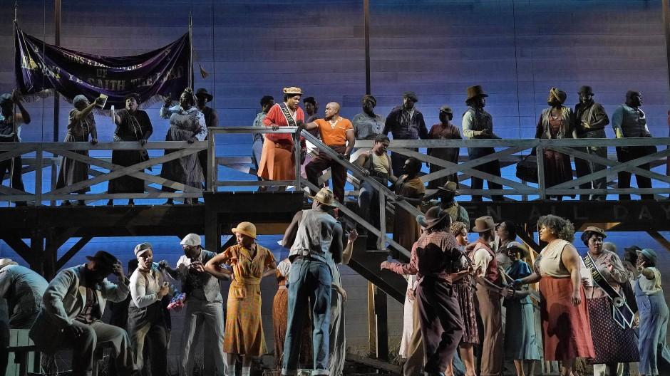 """Szene aus """"Porgy and Bess"""" an der Metropolitan Opera in New York im vergangenen Monat."""