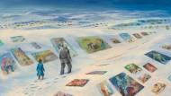 """Wer seine Erinnerungen verliert, verliert sich selbst: Szene aus Sebastian Meschenmosers llustrationswerk zu Michael Endes """"Die unendliche Geschichte"""""""