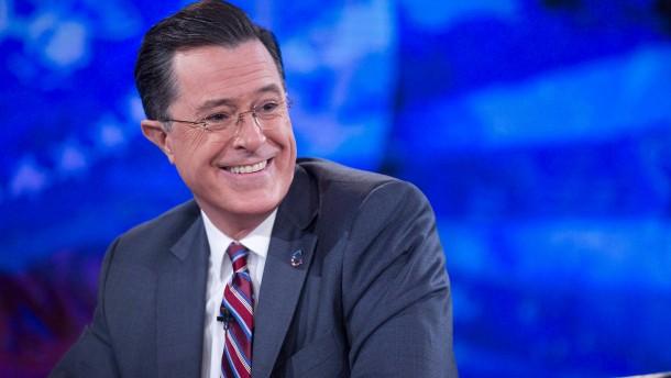 Colbert reißt scharfe Witze über Trump