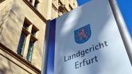 Ort der Verhandlung: Das Landgericht Erfurt.