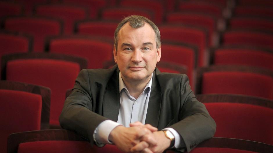 """Will Wagners """"Ring"""" bei den Maifestspielen: Der Wiesbadener Intendant Uwe Eric Laufenberg."""