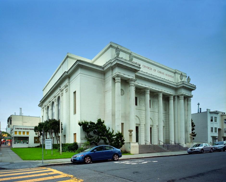 Eine Kathedrale der Informationstechnologie: Die Zentrale des Internet Archiv befindet sich in der ehemaligen Christian Science Kirche.