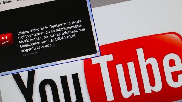 Youtubes Sperrtafeln sind rechtswidrig