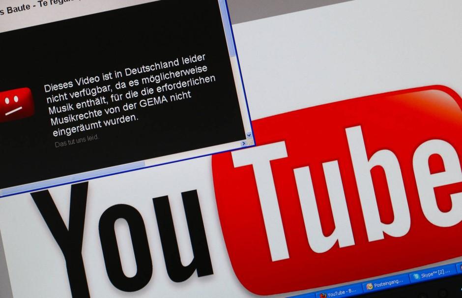Rechte vorbehalten youtube jugendlich Gericht