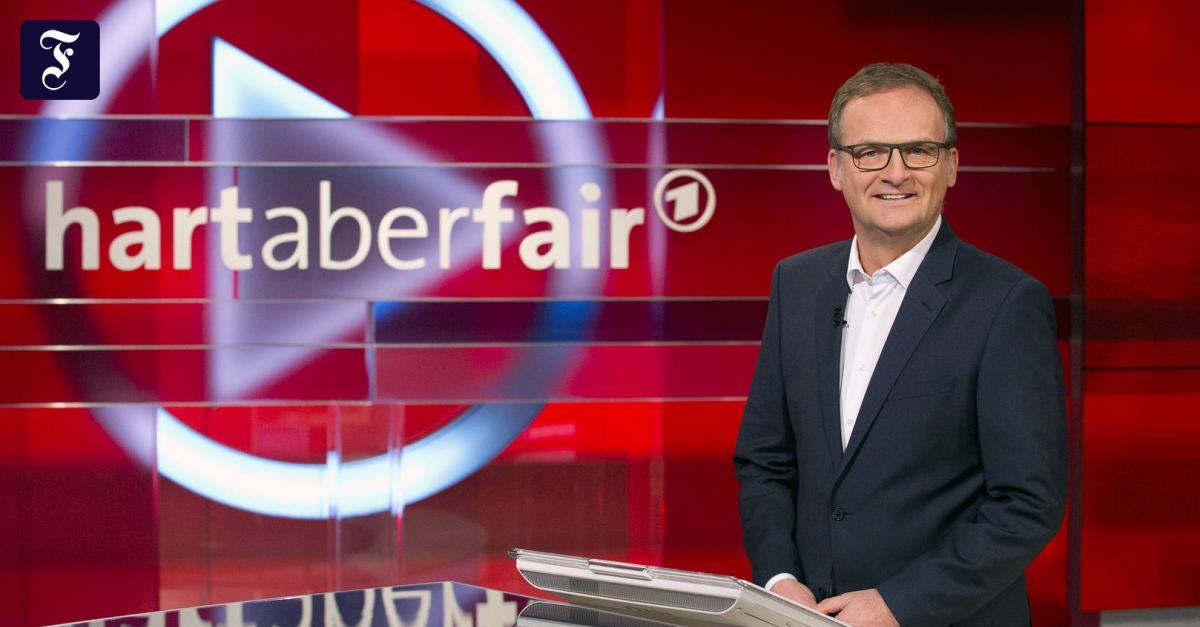 Hart Aber Fair Loschung Der Wdr Setzt Auf Zensur Medien Faz