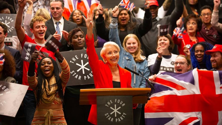 Gegen sie ist Boris Johnson ein Waisenknabe: Emma Thompson spielt in Years and Years die populistische Politikerin Vivienne Rook.