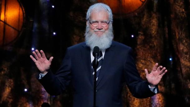 Late-Night-Legende David Letterman kehrt zurück