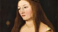 """Hans Holbein des Älteren """"Heilige Katharina"""" aus dem Jahr 1509"""
