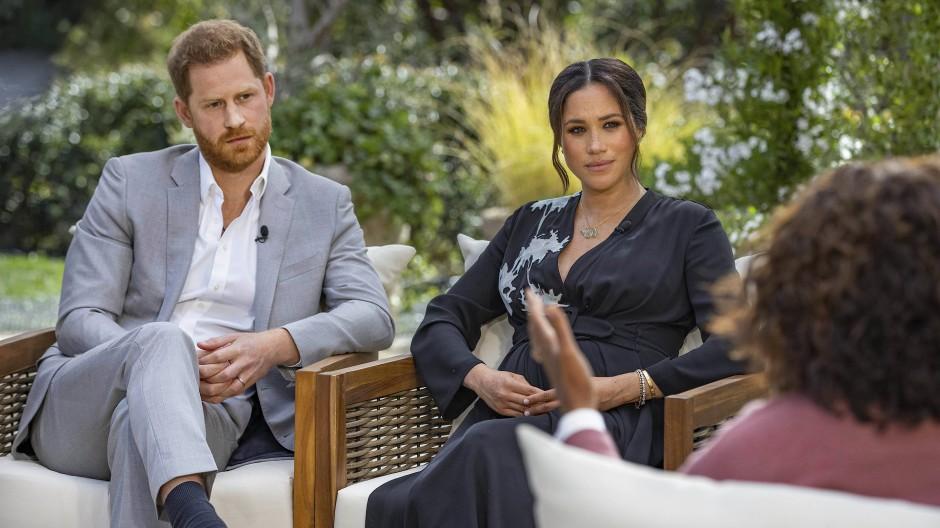 Zeugen der Anklage in eigener Sache: Prinz Harry und Meghan Markle bei Oprah Winfrey