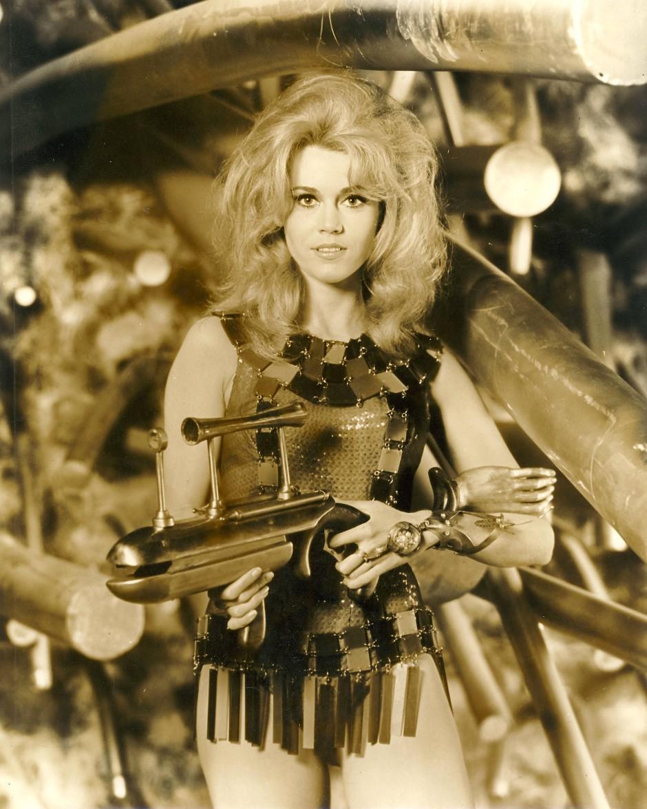 """Das war eine unerhörte Rolle: Jane Fonda als """"Barbarella"""" (1968)."""