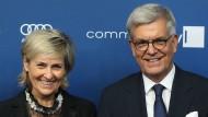 Die Beschlüsse der Ministerpräsidenten müssen sie nicht schrecken: die ARD-Vorsitzende Karola Wille und der ZDF-Intendant Thomas Bellut.