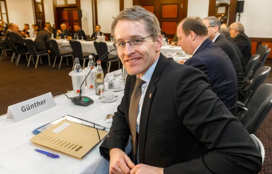 Bringt Bewegung in die Rundfunkpolitik: Der Ministerpräsident von Schleswig-Holstein, Daniel Günther (CDU).