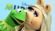 Keine Küsse mehr bei Amazon: Muppet-Stars Miss Piggy und Kermit