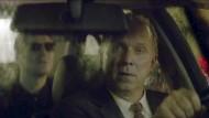 Blinder Passagier? Mitnichten: Kommissar Felix Murot (Ulrich Tukur) hat einen potentiellen Mörder (Jens Harzer) an Bord.