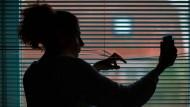 Die meisten Stalking-Opfer sind Frauen (Symbolbild).