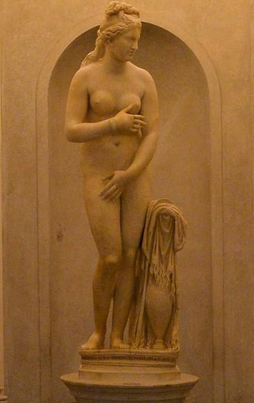 Stein des Anstoßes: Die kapitolinische Venus sollte der iranische Präsident Rohani nicht sehen. Also wurde sie versteckt. Doch von wem?