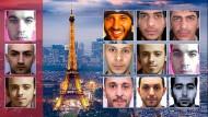 """Neun der islamistischen Terroristen, die in Paris mordeten, will """"Faception"""" erkannt haben, in diesem Fall allerdings erst im Nachhinein."""