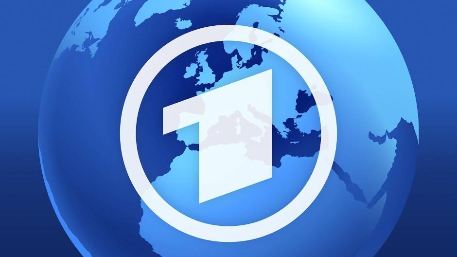 """Alles so schön blau hier: Das Logo der """"Tagesschau""""."""