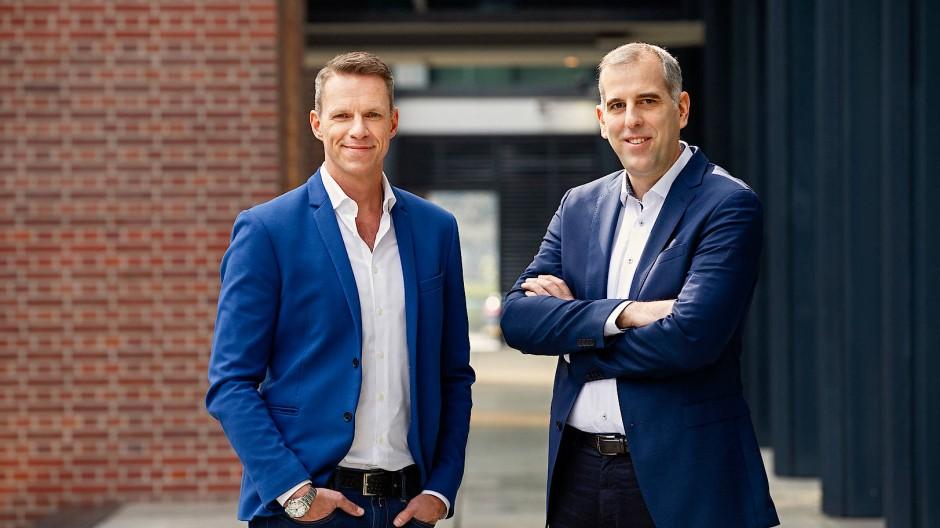 """Eine """"Doppel-Ausstrahlung"""" wie ARD und ZDF machen sie nicht: Martin Gradl (links) und Stephan Schmitter."""