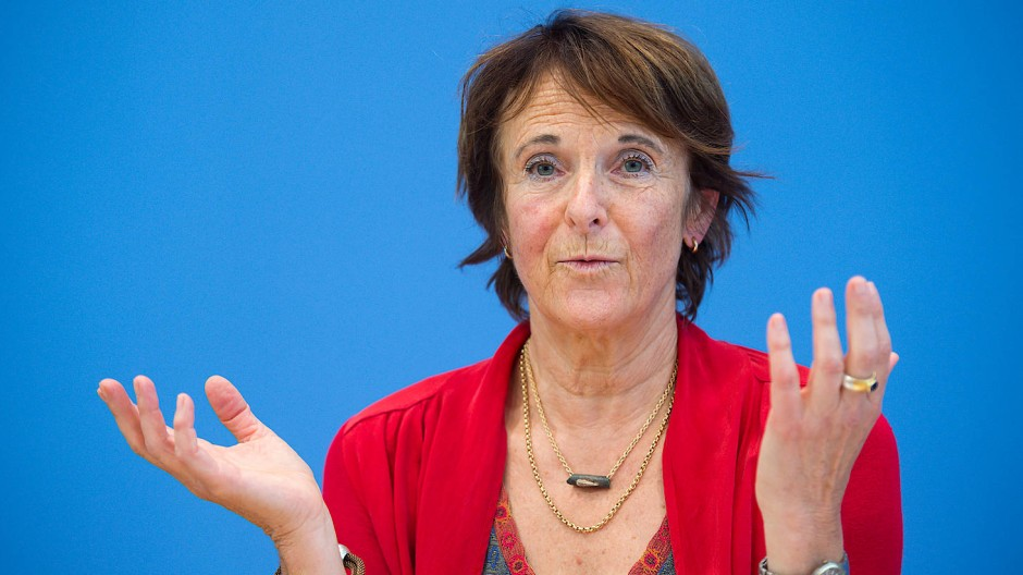 Maria Krautzberger, die scheidende Präsidentin des Umweltbundesamtes.