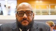 Moses Pelham im November vor einer Verhandlung im Bundesverfassungsgericht