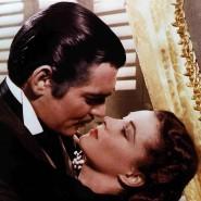 """Clark Gable und Vivian Leigh als Rhett Butler und Scarlett O'Hara in """"Vom Winde verweht""""."""