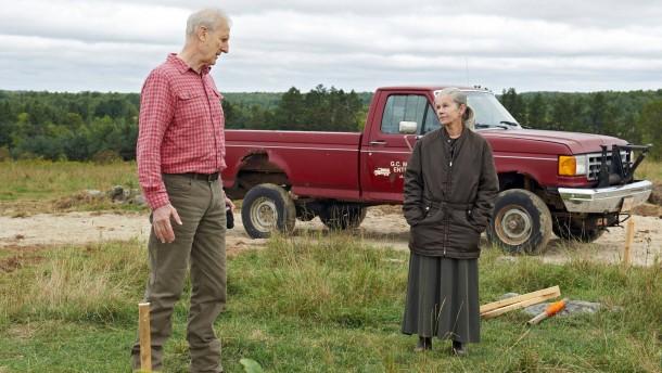 Ein altes Paar kämpft um sein Glück